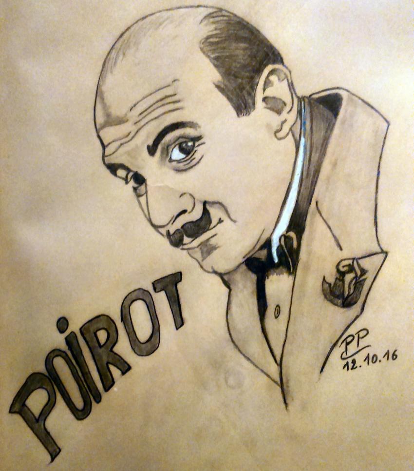 Hercule Poirot par Patoux